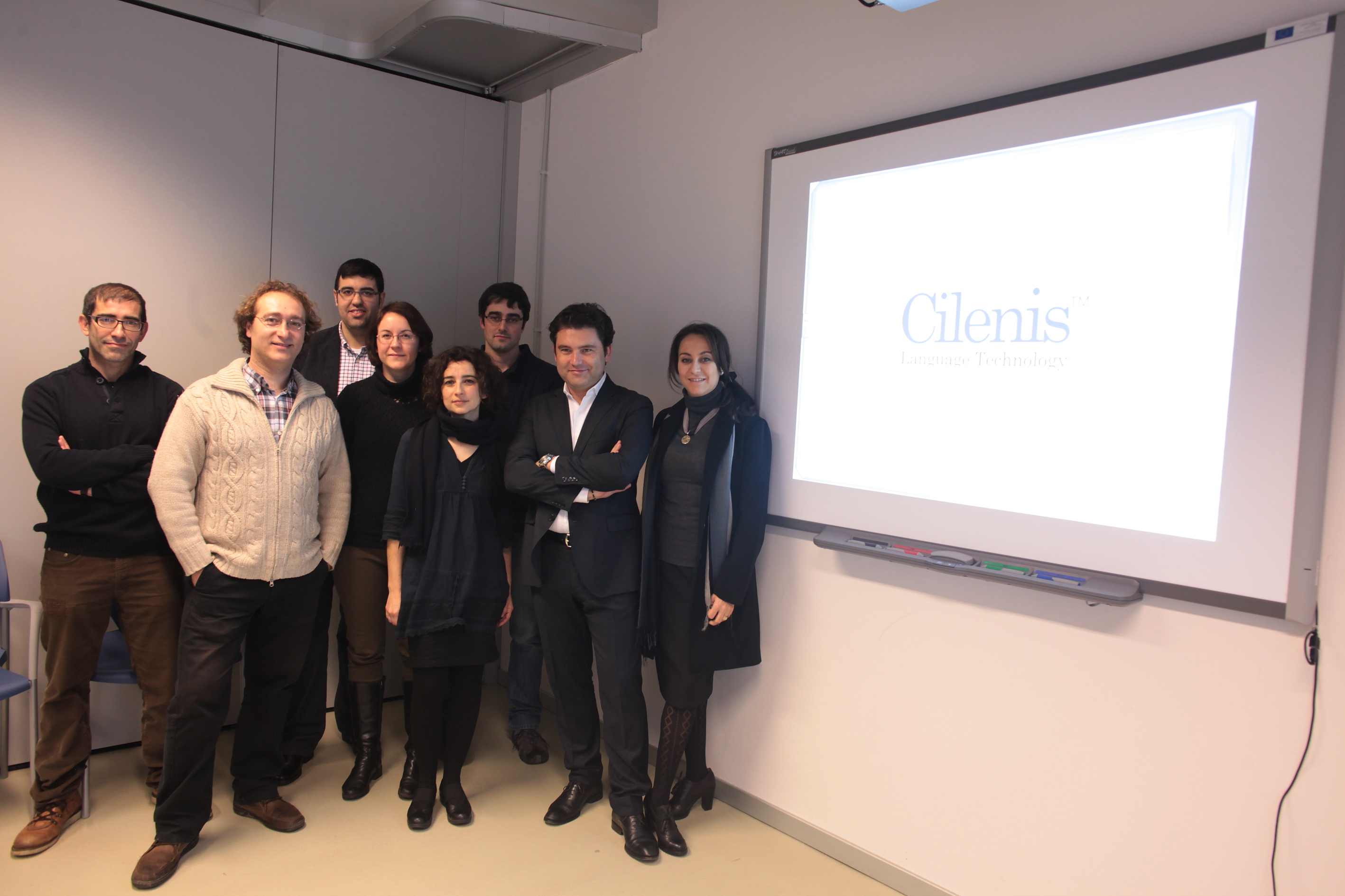 Founders and investors of Cilenis